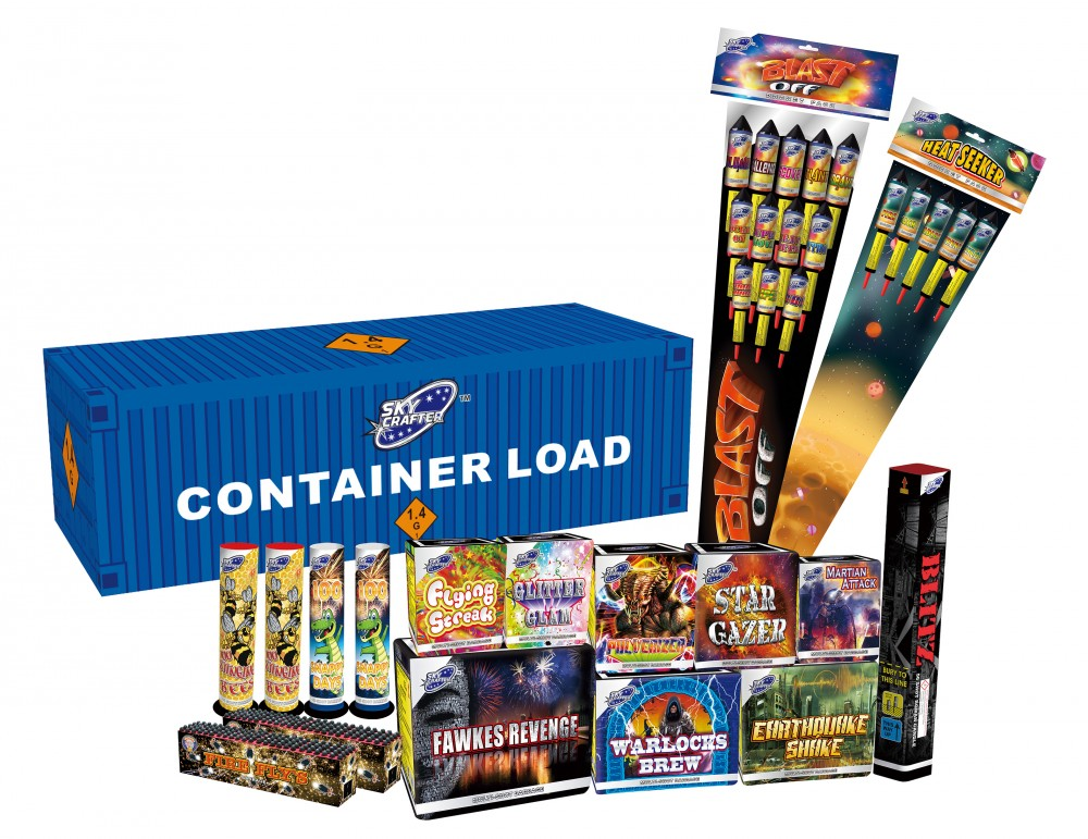 Container Load Fireworks By Sky Crafter Link Fused