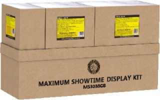 Brothers Pyrotechnics Maximum Showtime 2 Display Kit