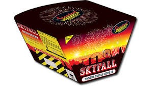 Black Cat Fireworks Skyfall