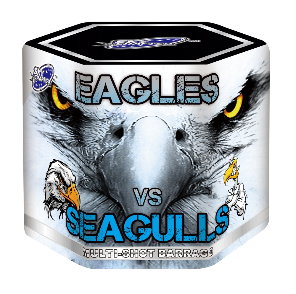 Sky Crafter Eagles vs Seagulls