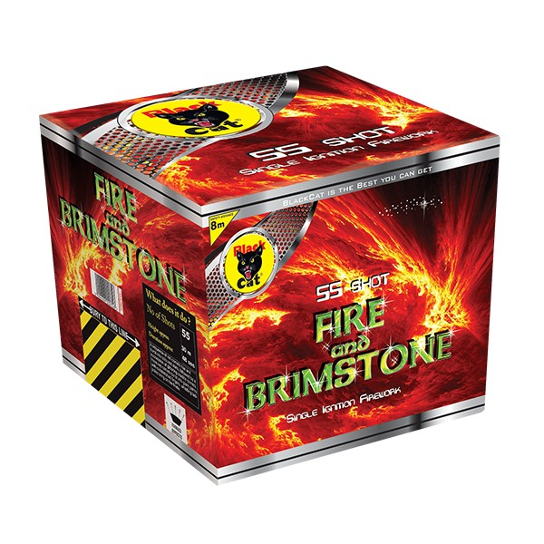 Black Cat Fireworks Fire & Brimstone
