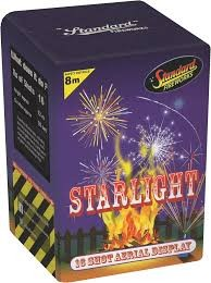 Black Cat Fireworks Starlight