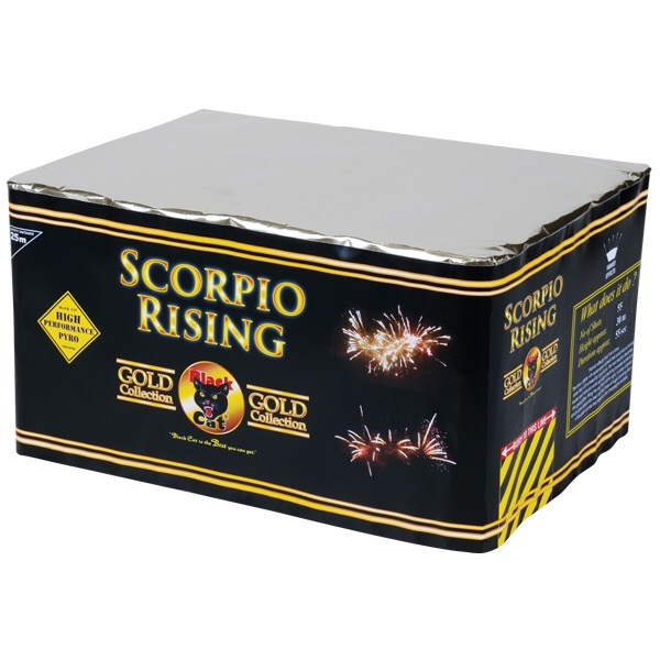 Black Cat Fireworks Scorpio Rising